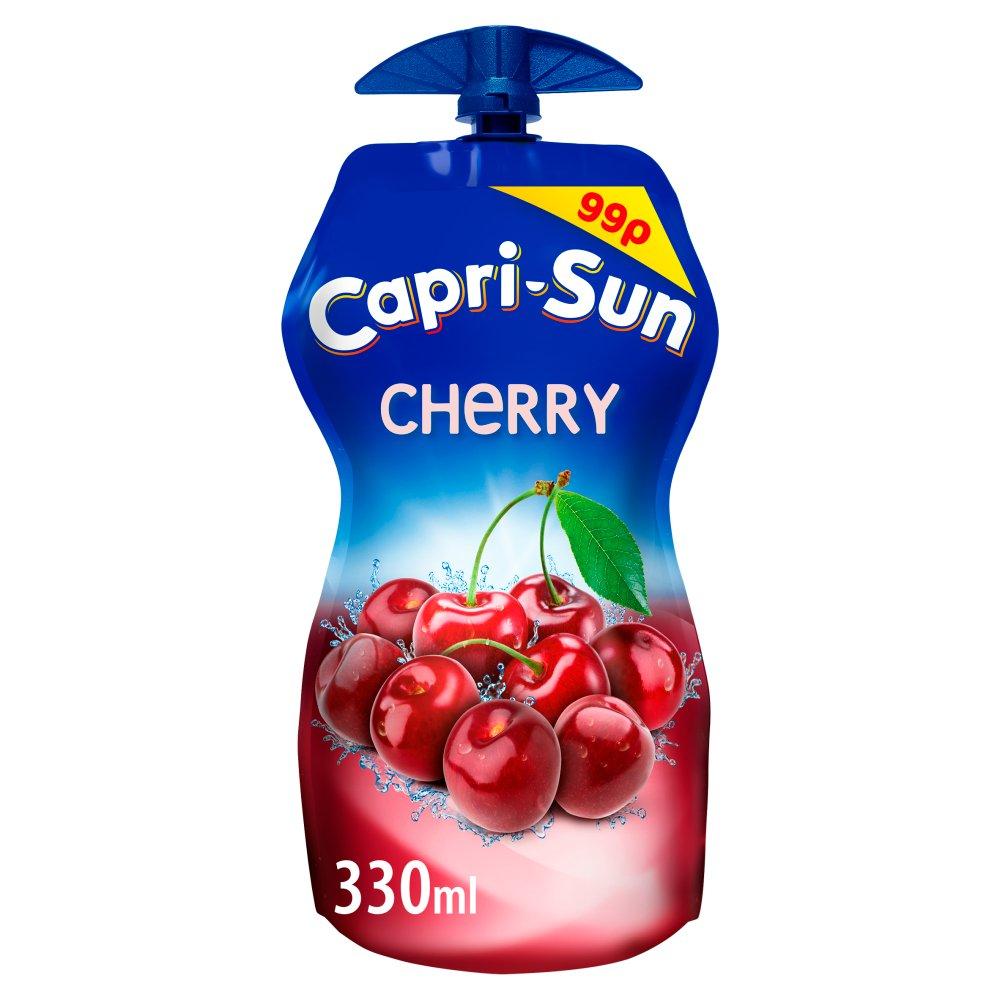 Capri-Sun Cherry 330ml PM 99p