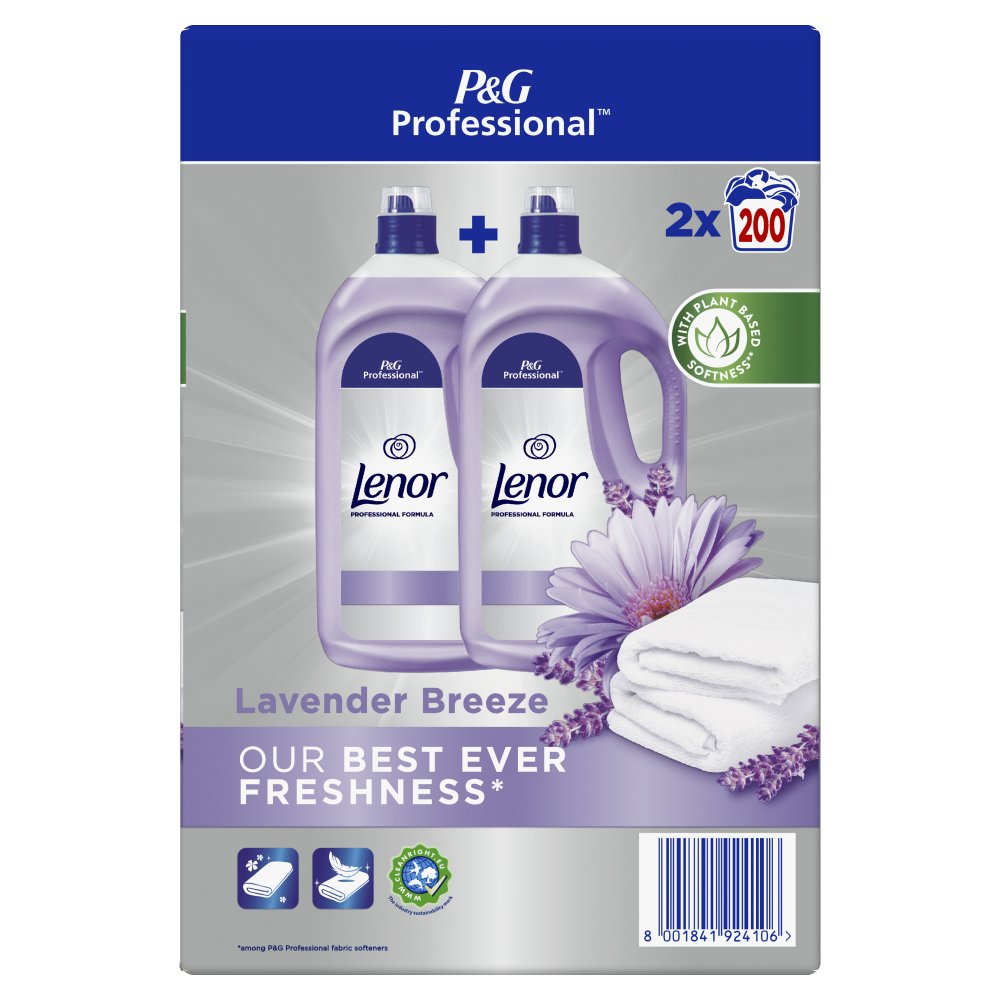 Lenor Professional Fabric Conditioner Moonlight Harmony 4L
