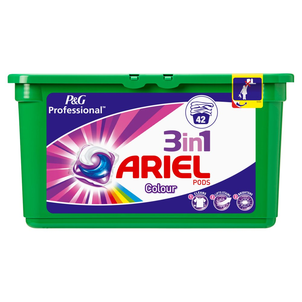 Ariel Liquid Tabs Colour