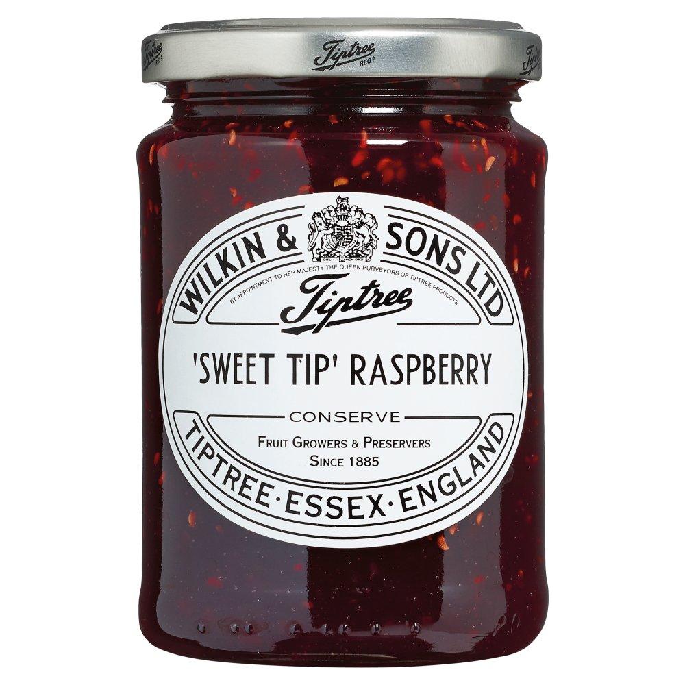 Wilkin & Sons Ltd Tiptree 'Sweet Tip' Raspberry Conserve 340g