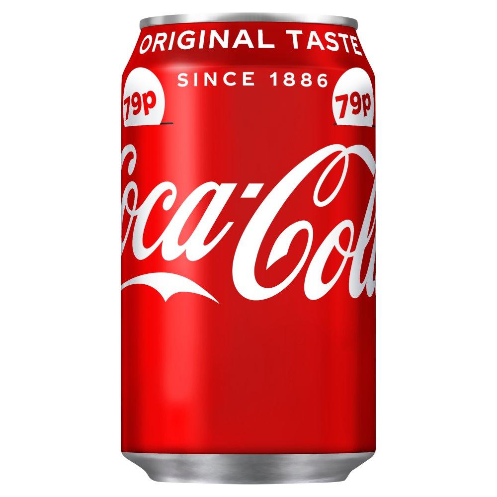 Coca-Cola Original Taste 330ml PMP 79p
