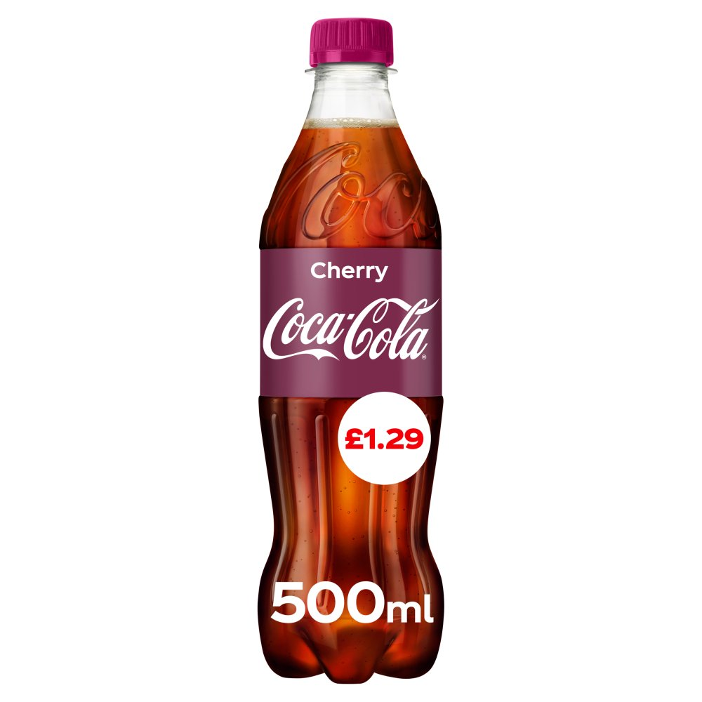 Coca-Cola Cherry 500ml PM £1.29