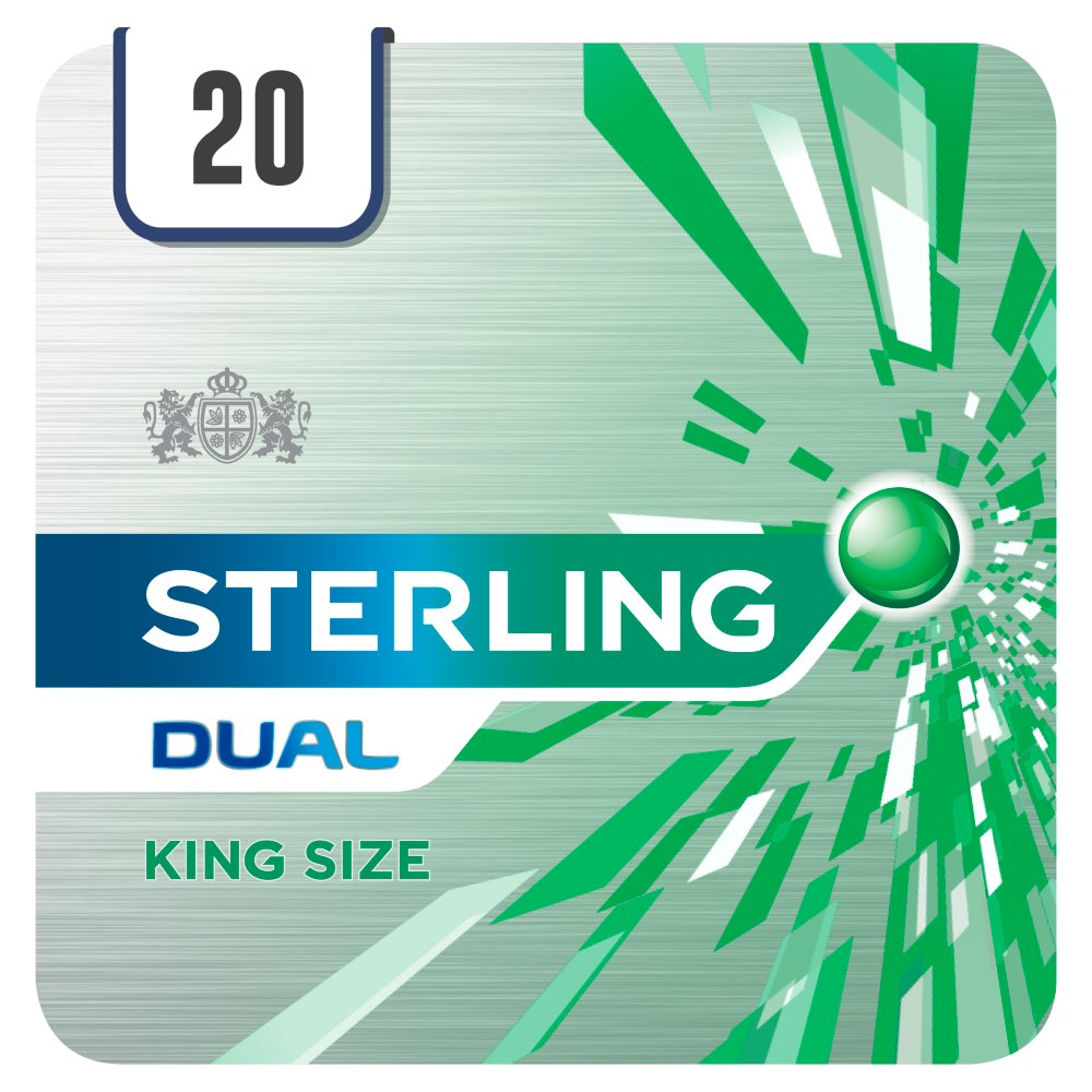 Sterling Dual King Size 20 Cigarettes