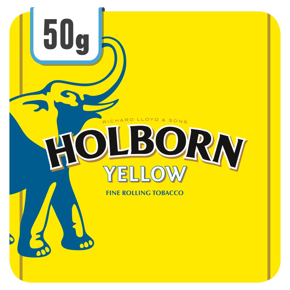 Holborn Yellow Includes Cigarette Papers 50g
