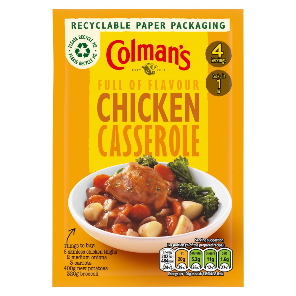 Colman's Casserole Mix Chicken Mix
