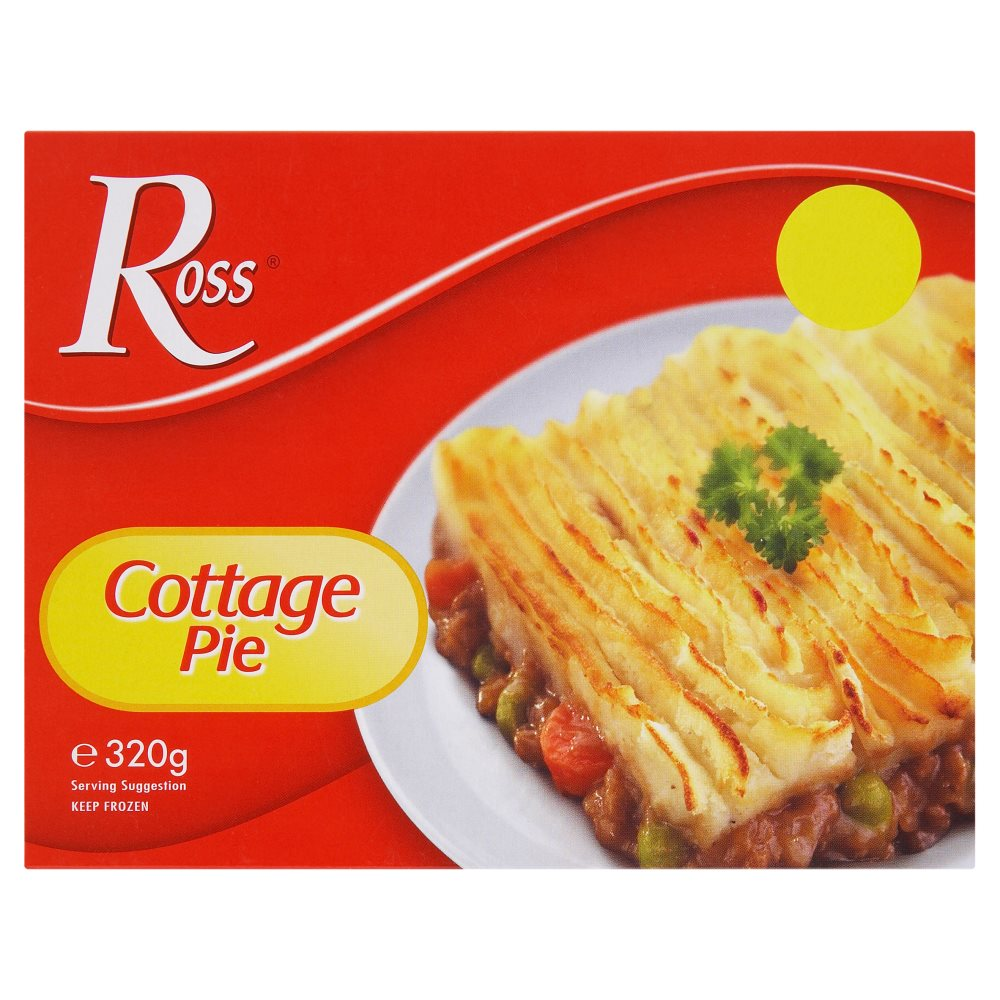 Ross Cottage Pie PM £1.00