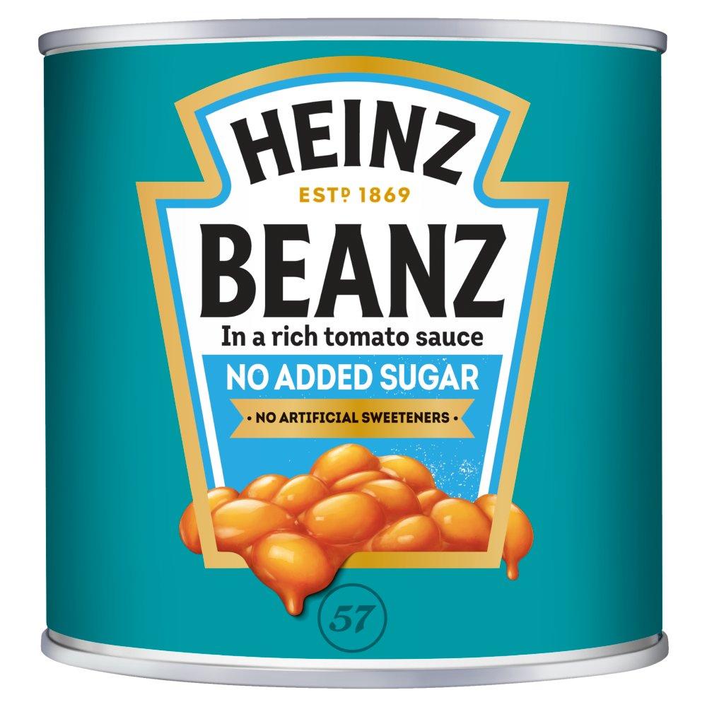 Heinz No Added Sugar Baked Beanz 2.62kg