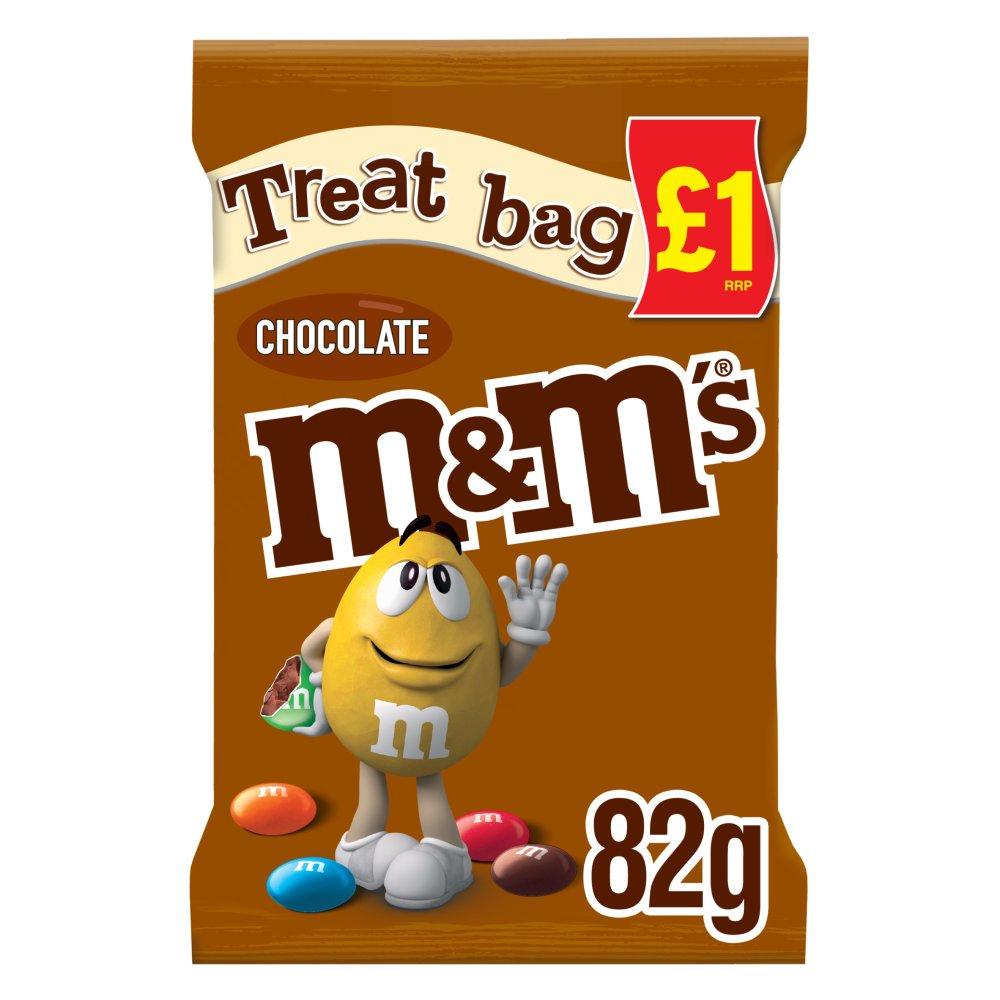 M&M's Chocolate £1 PMP Treat Bag 82g