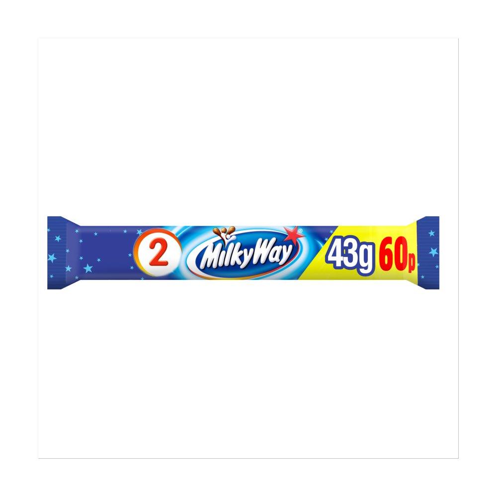 Milky Way Chocolate £0.60 PMP Duo Bar 43g