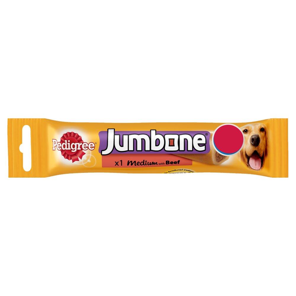 PEDIGREE® Jumbone Medium with Beef 1 Chew 100g