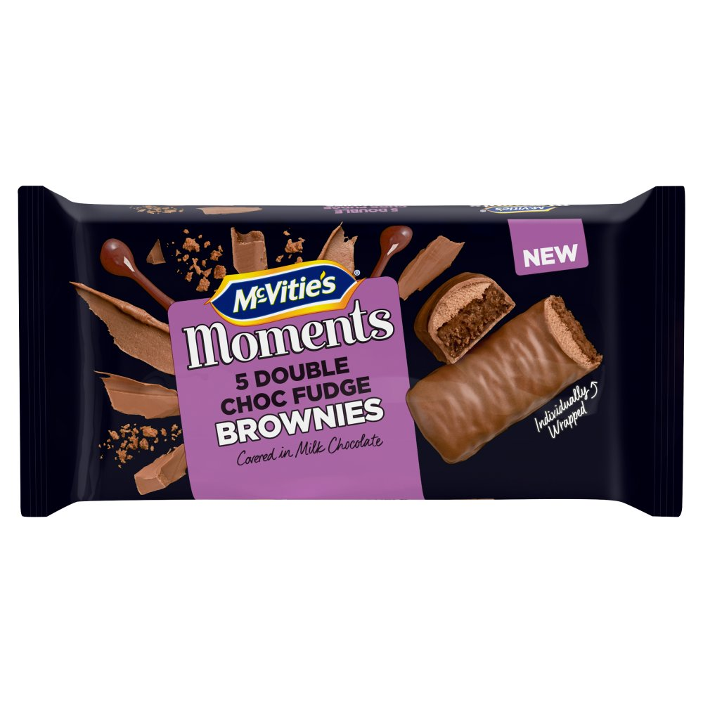 McVitie's Moments 5 Double Choc Fudge Brownie