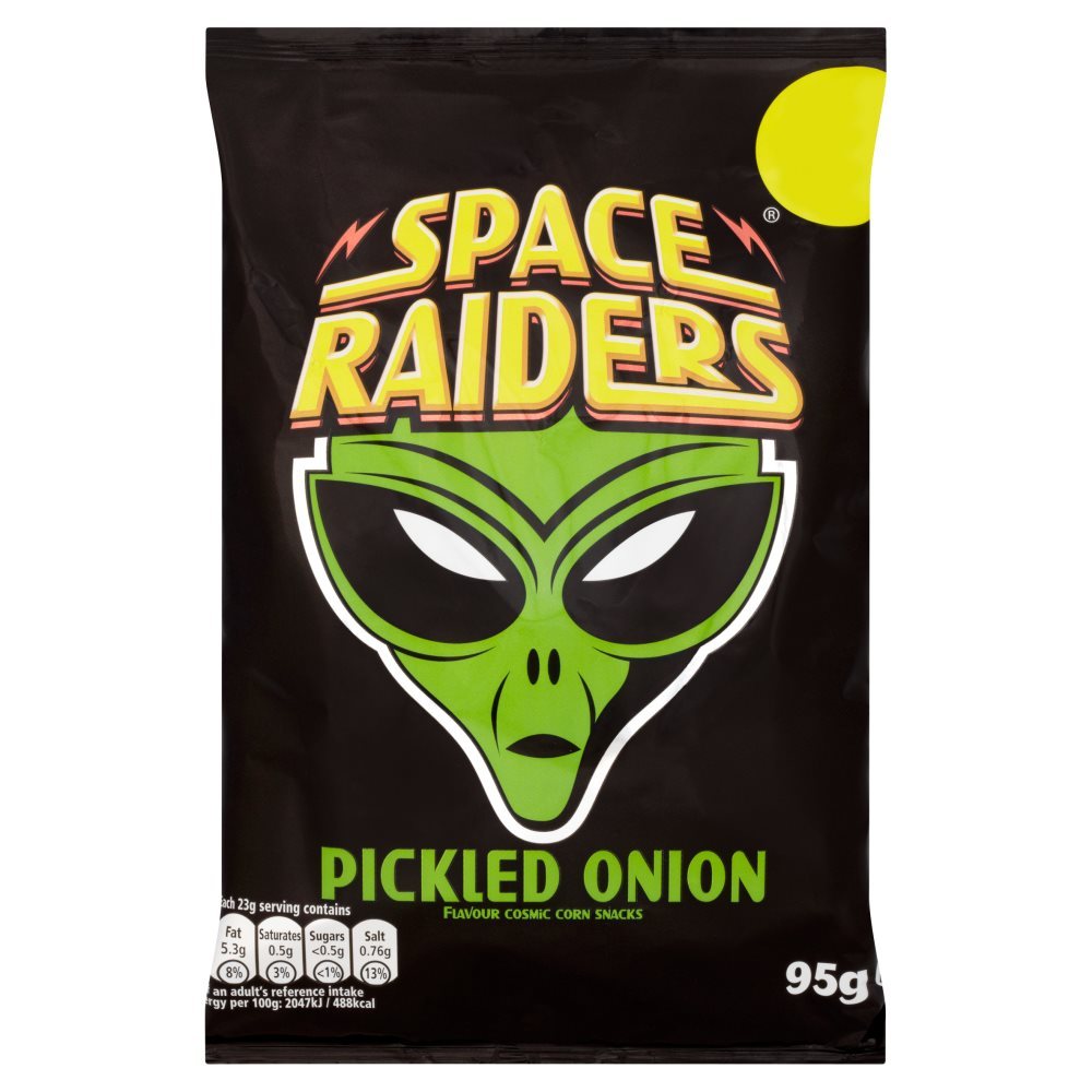 Space Raiders Pickled Onion £1.00
