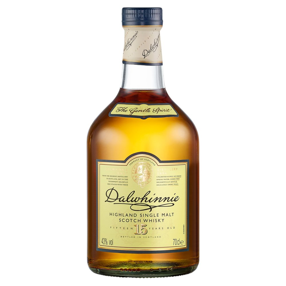 Dalwhinnie 15 Yrs Old Sgl Malt Scotch Whisky 70cl