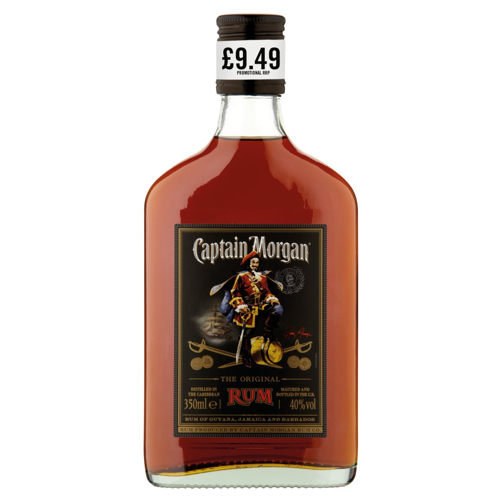 Captain Morgan The Original Rum 35cl PMP £9.49