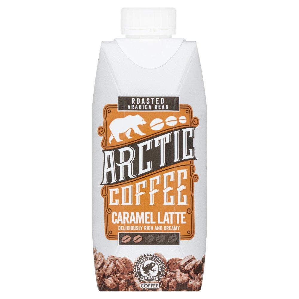 Arctic Fairtrade Roasted Arabica Bean Coffee Caramel Latte 330ml