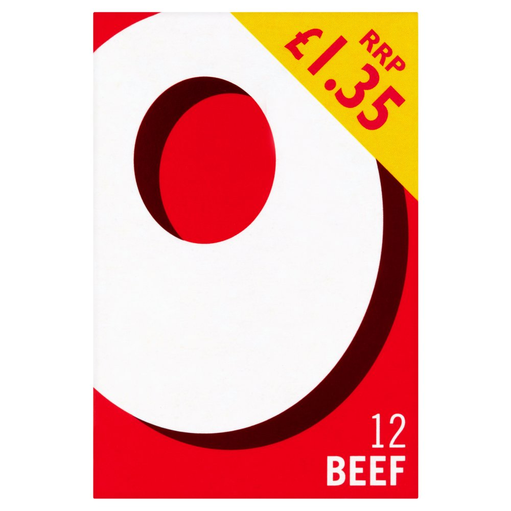 Oxo Beef Stock Cubes PM £1.35
