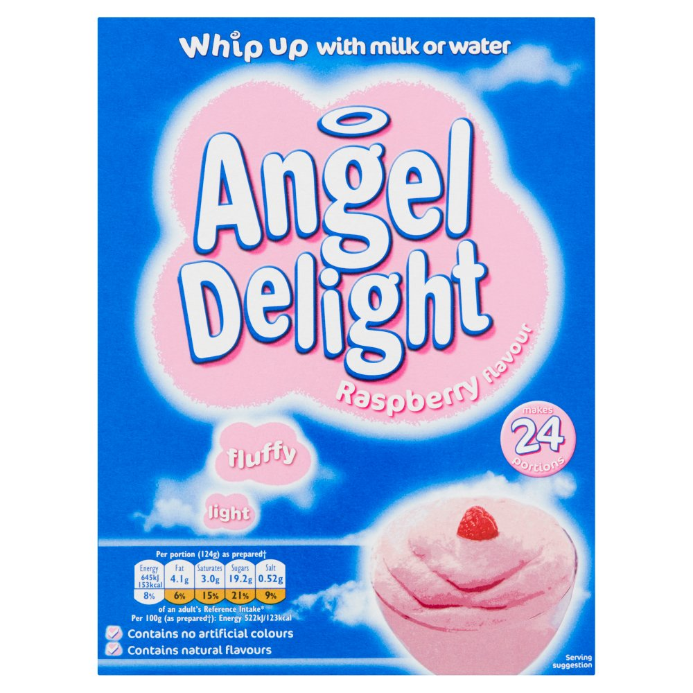 Angel Delight Raspberry