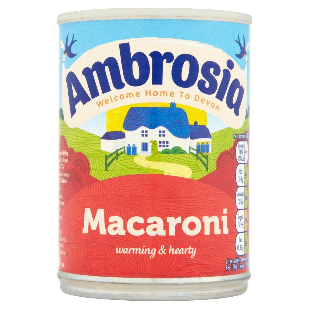 Ambrosia Macaroni Can 400g