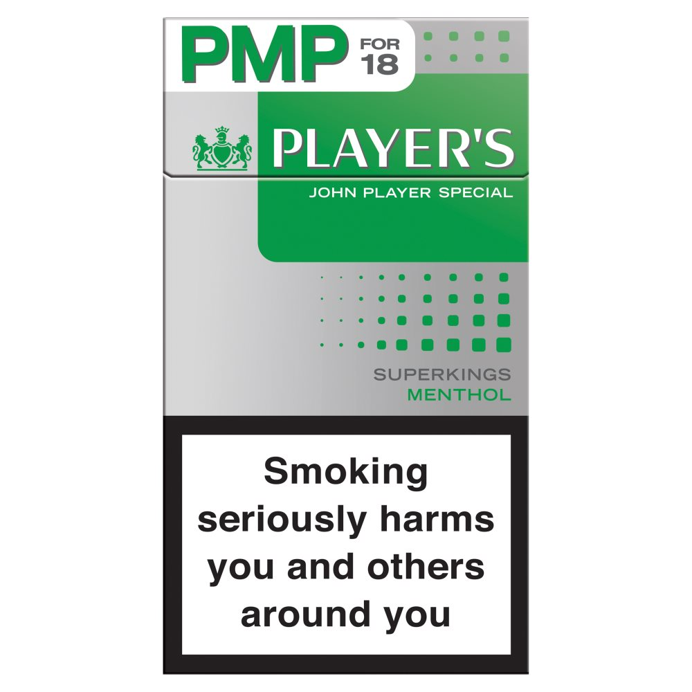 Players Super King Menthol £6.14