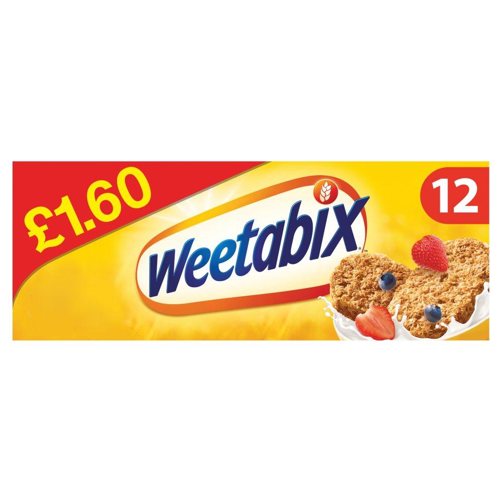 Weetabix Cereal 12 Pack PMP £1.60