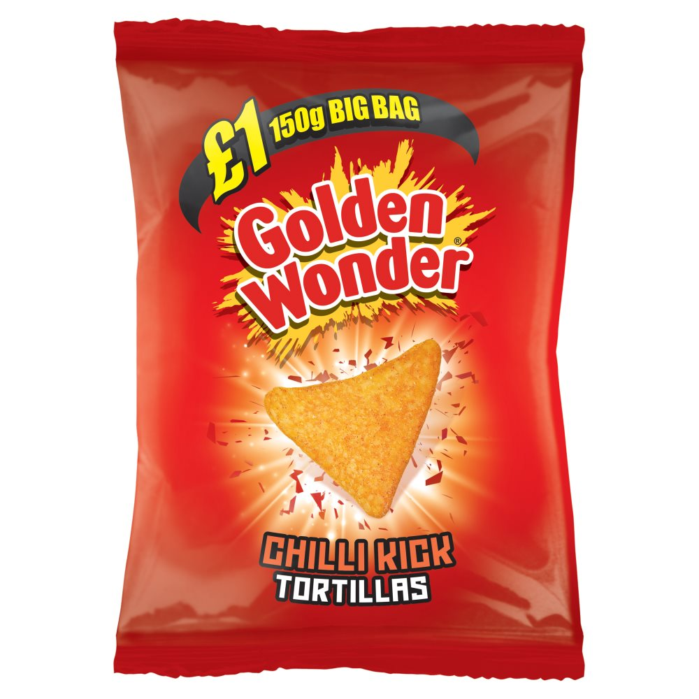 Golden Wonder Tortillas Chilli £1