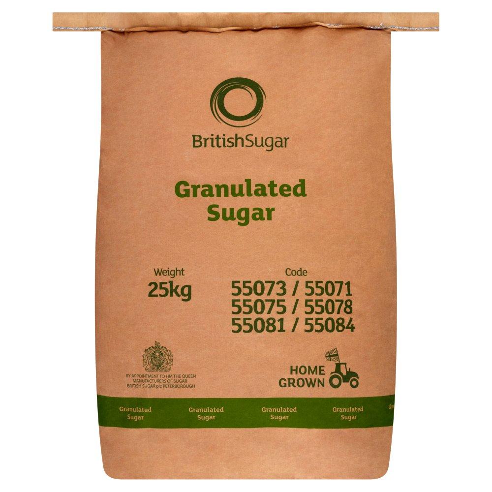 British Sugar Granulated Sugar 25kg