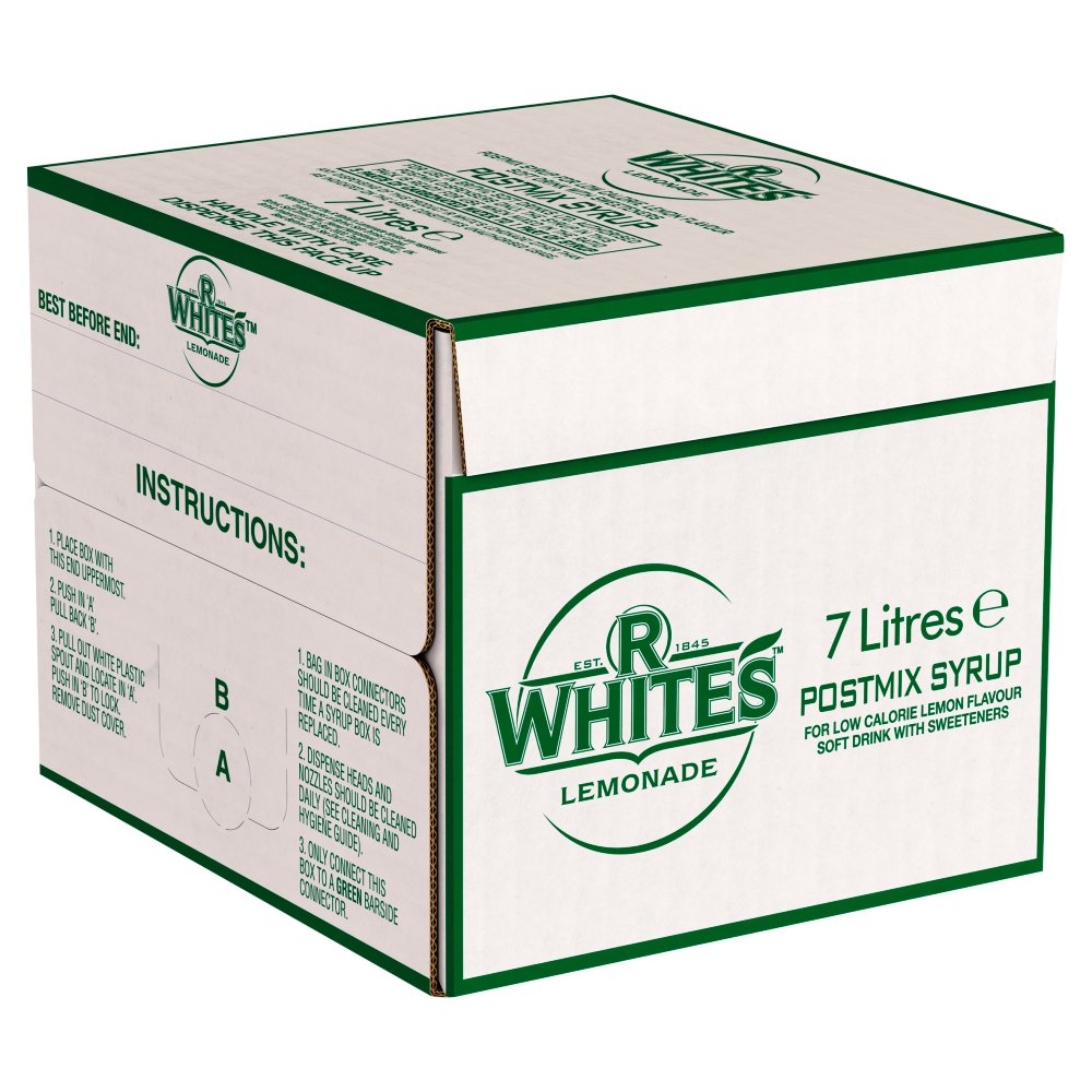 Rwhite Lemonade Bottle In Box
