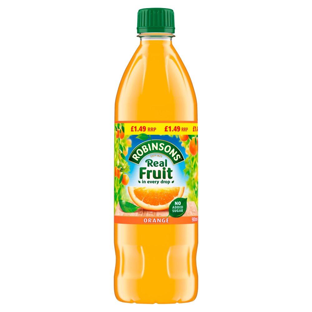 Robinsons Orange No Added Sugar Fruit Squash 12 x 900ml