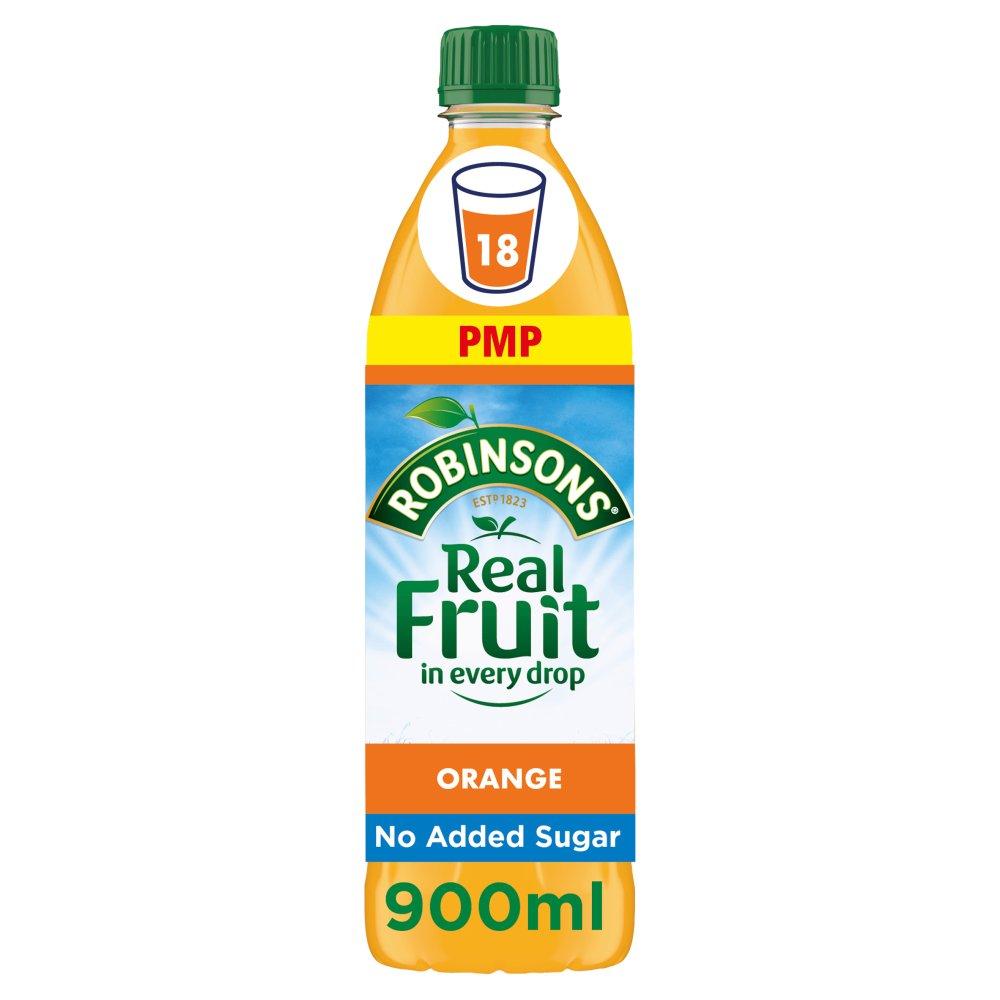 Robinsons Orange No Added Sugar Squash PMP 900ml