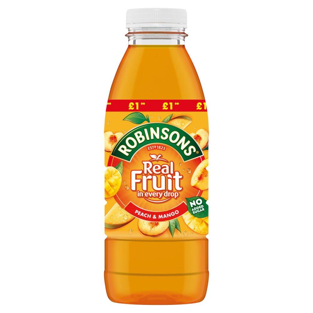 Robinsons Ready to Drink Peach & Mango Juice Drink PMP 500ml