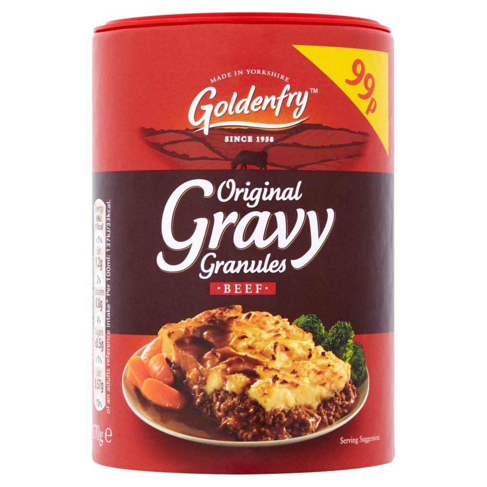Goldenfry Original Gravy Granules Beef 170g