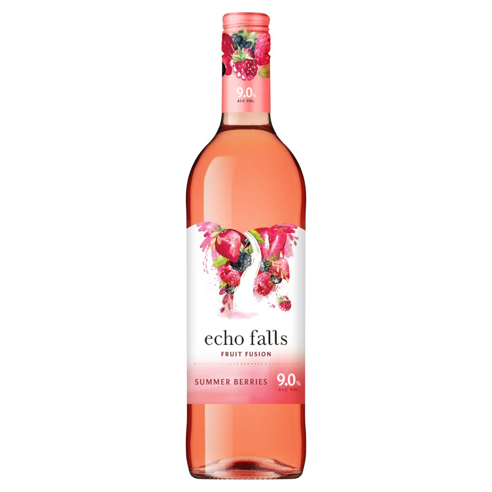 Echo Falls Fruit Fusion Summer Berries 75cl