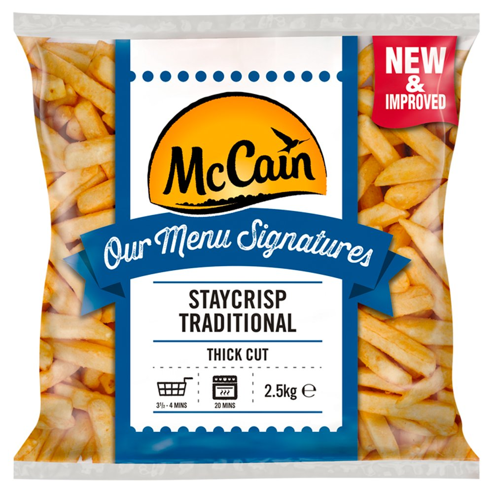 Mccain Sign Traditional Gluten Free Chip