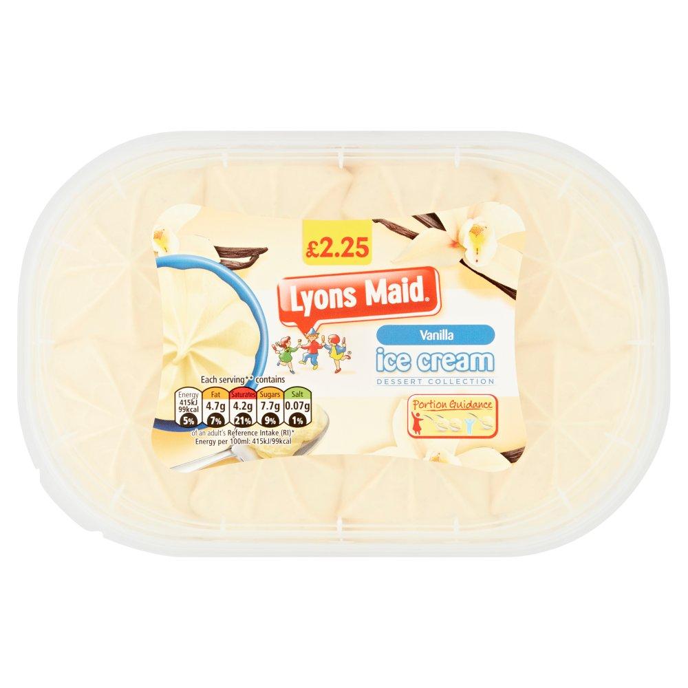Lyons Maid Vanilla Ice Cream 900ml