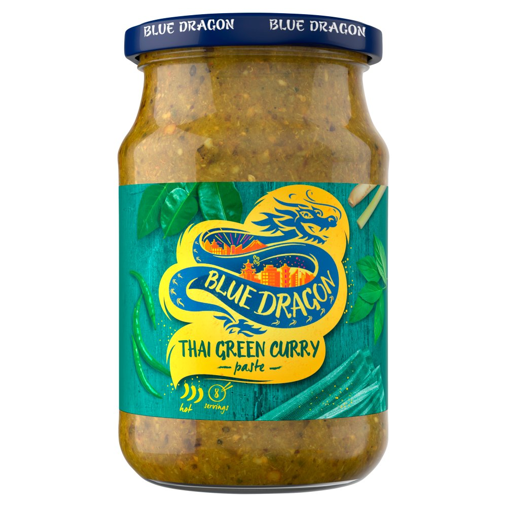 Blue Dragon Green Curry Paste 285g