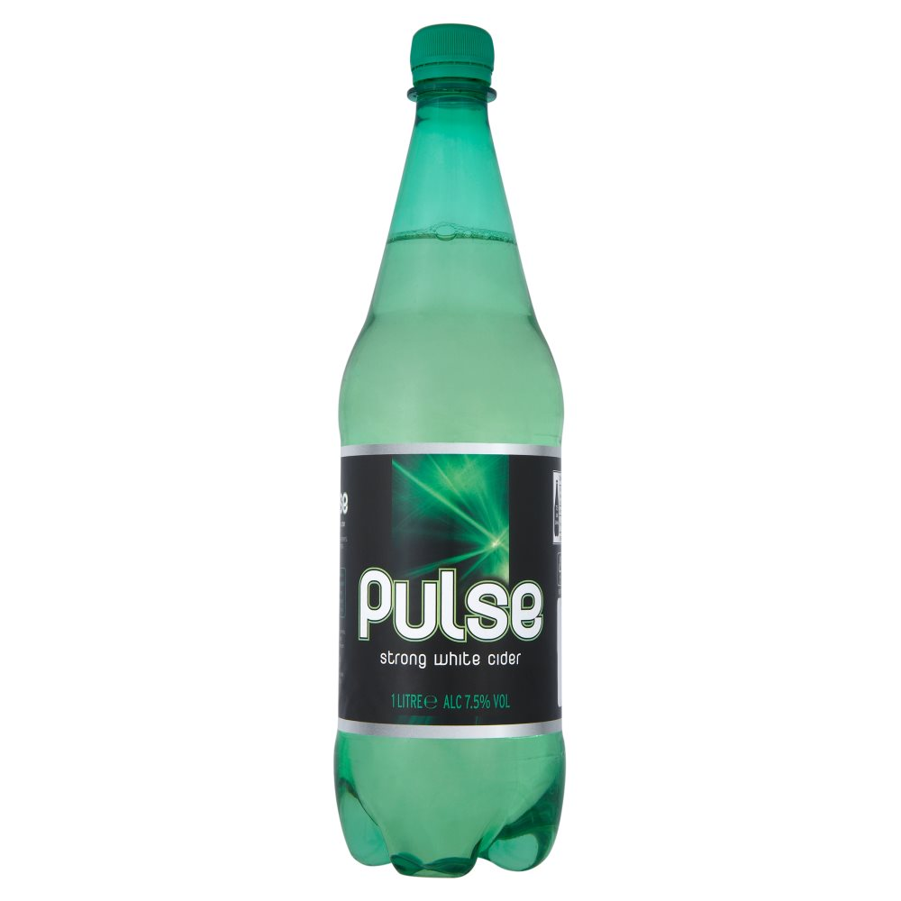 Pulse Strong White Cider 1Ltr