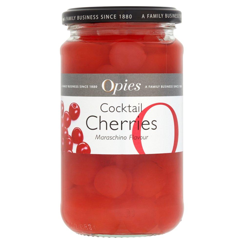 Opies Cocktail Cherries Maraschino Flavour 500g