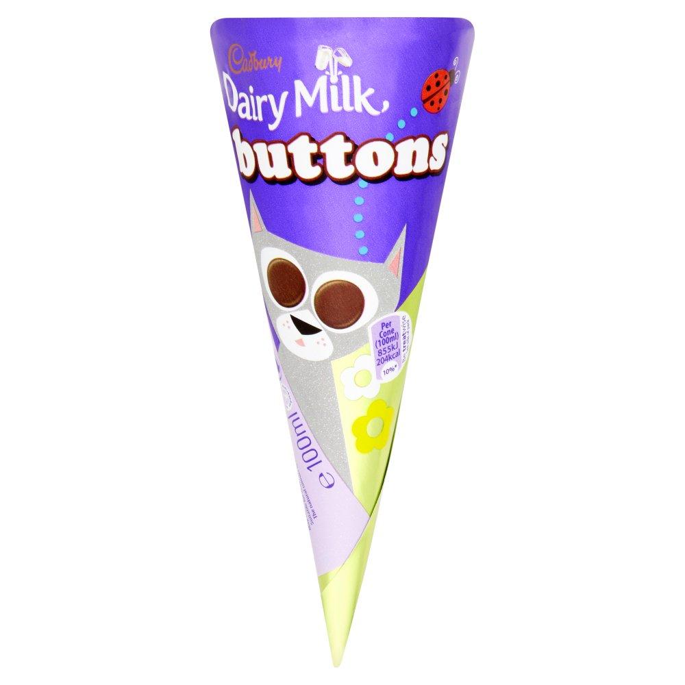 Cadbury Dairy Milk Buttons 100ml