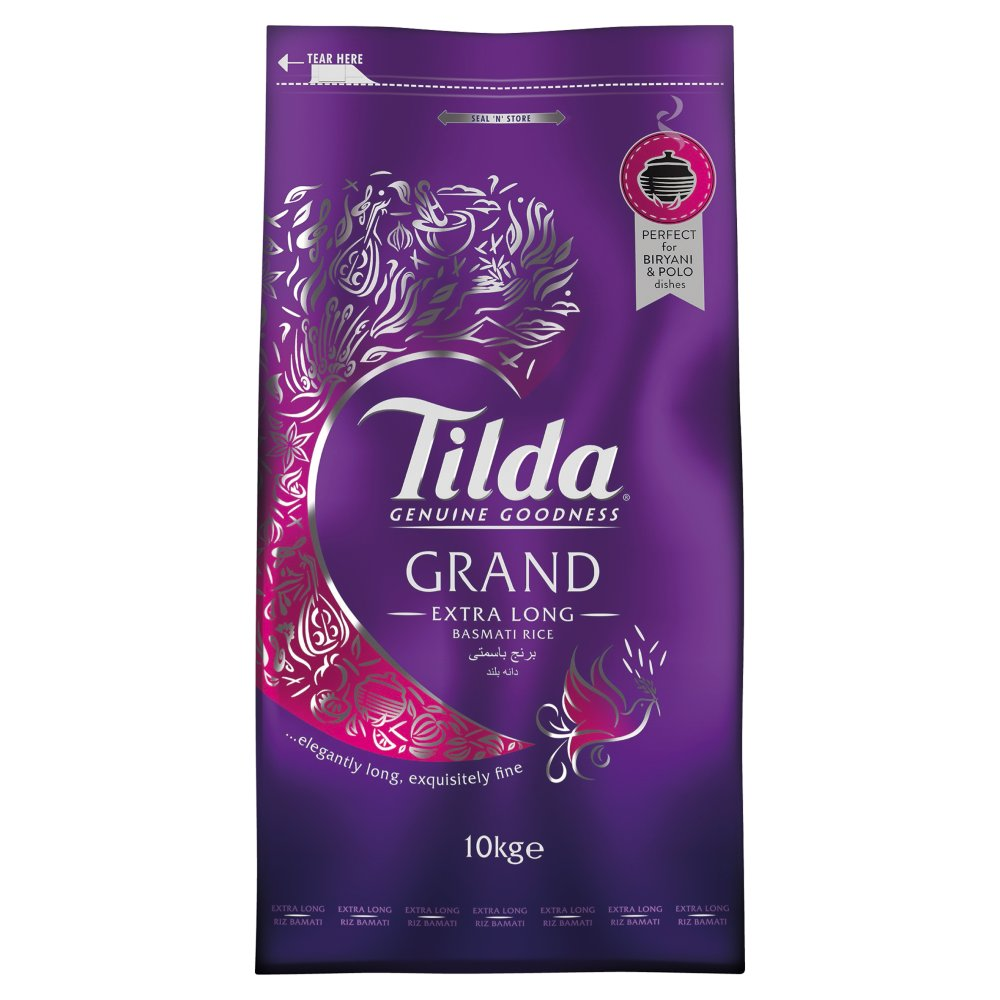 Tilda Grand Extra Long Grain Rice