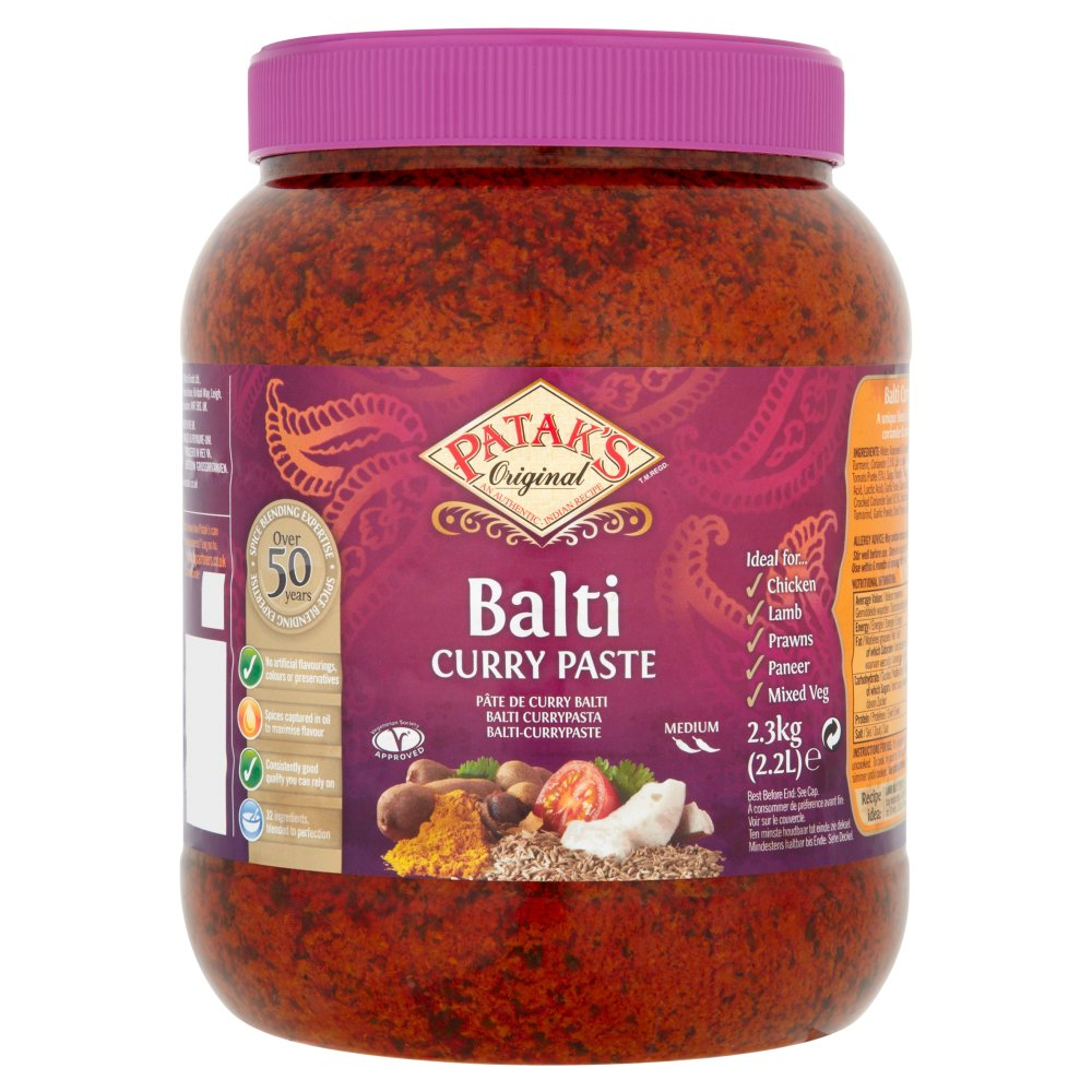 Patak's Original Balti Curry Paste 2.3kg
