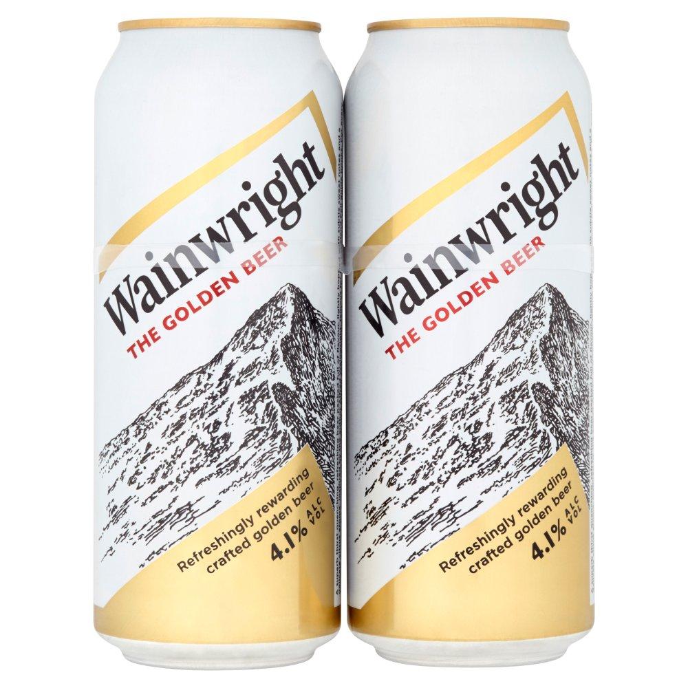 Wainwright The Golden Beer 4 x 500ml