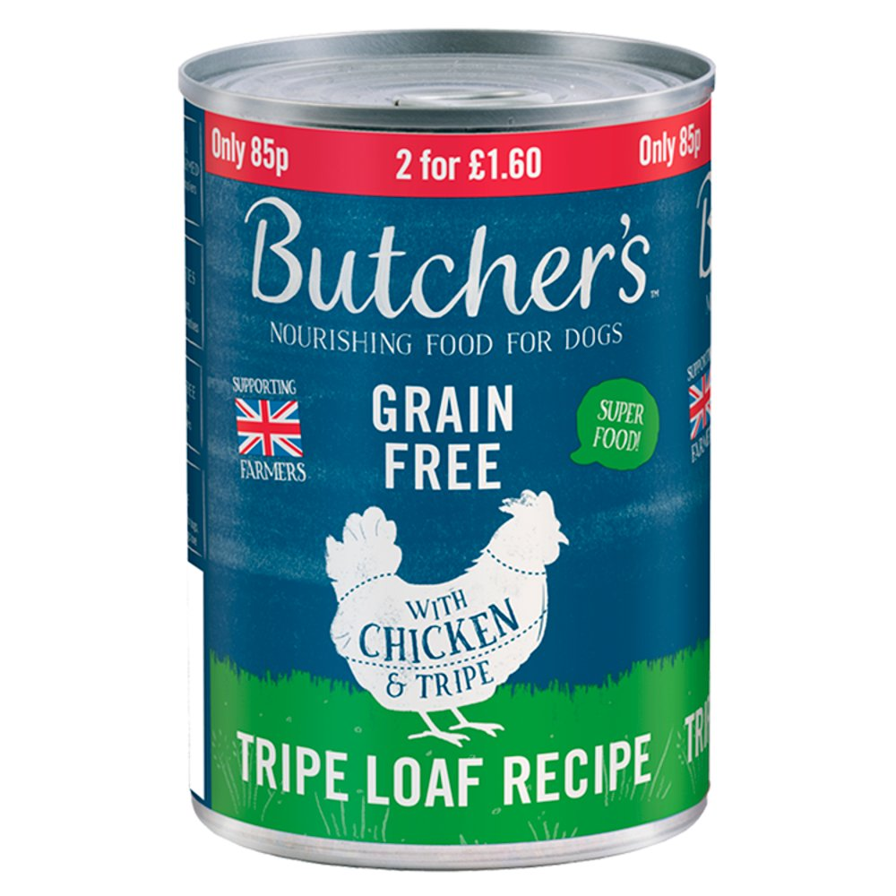 Butcher's Nourishing Food for Dogs with Chicken & Tripe 400g