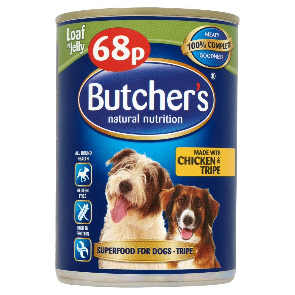 Butchers Tripe & Chicken PM 68p