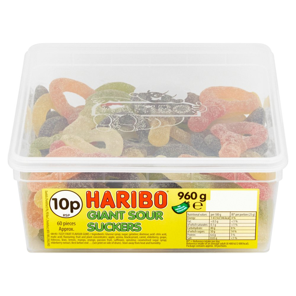 Haribo Giant Sour Sucker