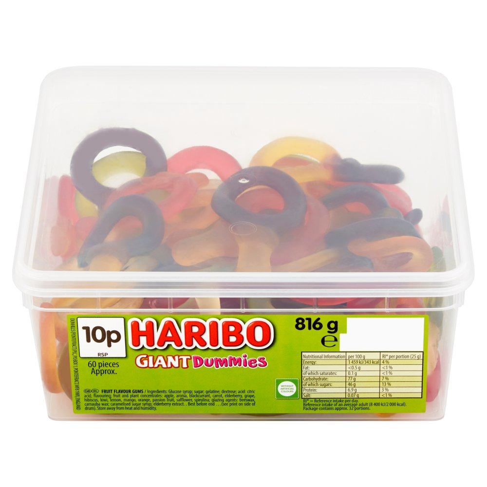 HARIBO Giant Dummies 60 Pieces 816g