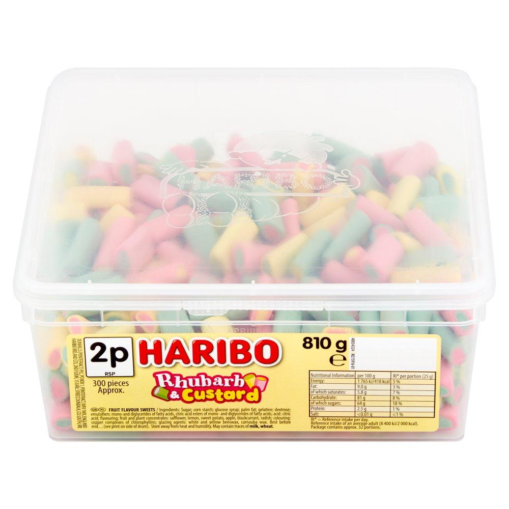 HARIBO Rhubarb & Custard 300 pieces 810g