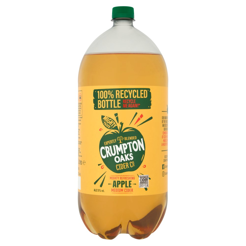 Crumpton Oaks Cider Co Apple Medium Cider 2.5 Litres