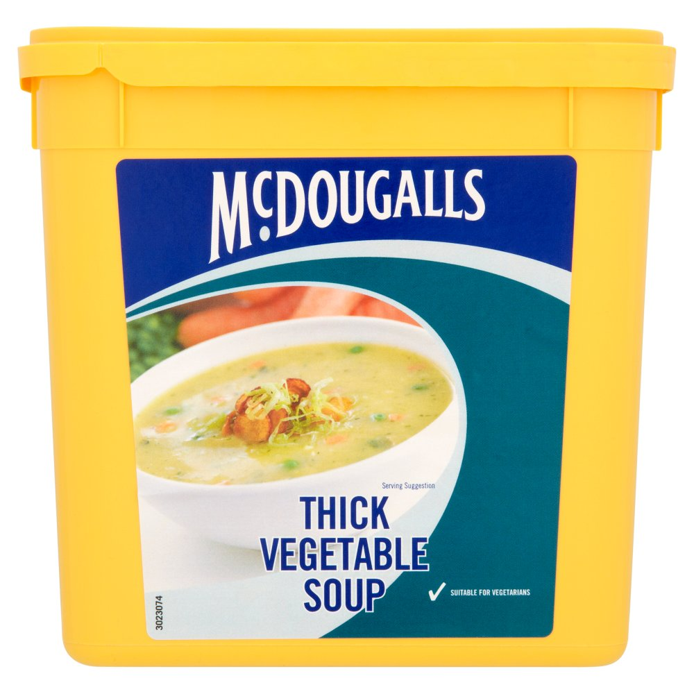 Mcdougals Thick Vegetable Soup