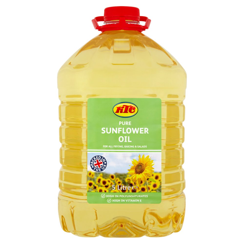 Ktc Sunflower Oil 5Ltr
