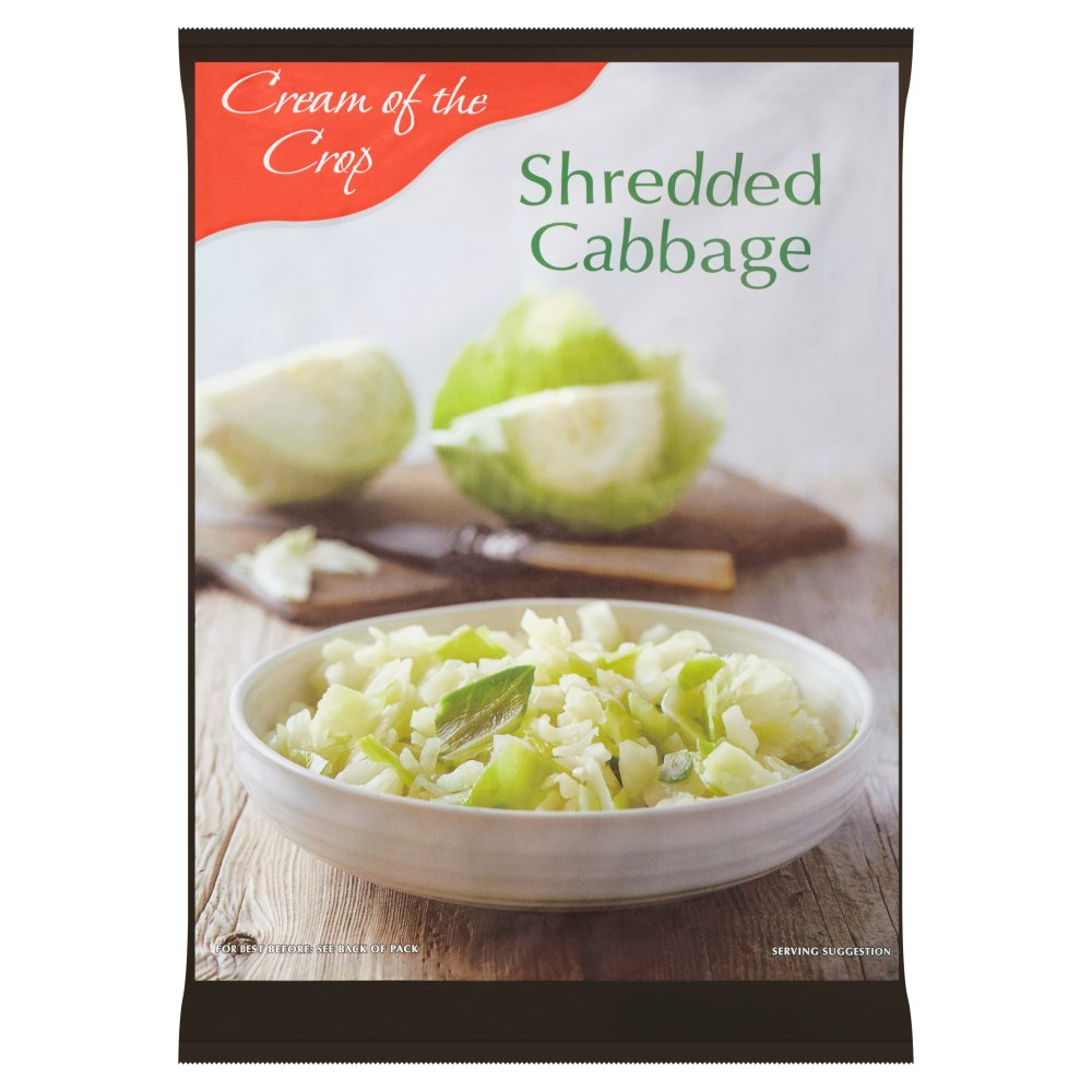 Cream of the Crop Shredded Cabbage 907g